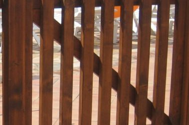 Cancello in legno 3
