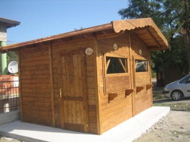 Chiosco in legno 1