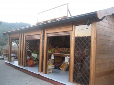 Chiosco in legno 10