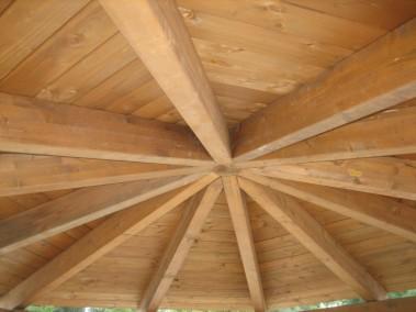 Chiosco in legno 11 dettaglio