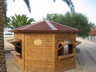 Chiosco in legno 16