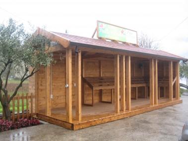 Chiosco in legno 4