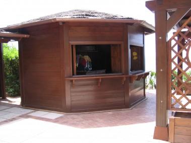 Chiosco in legno 7
