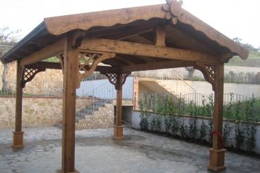Gazebi in legno 16