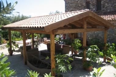 Gazebi in legno 5
