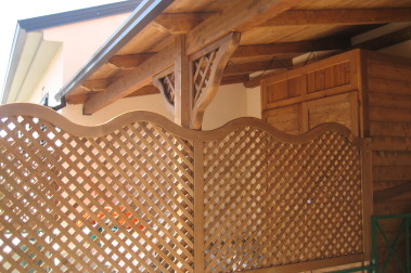 Grigliati in legno 137