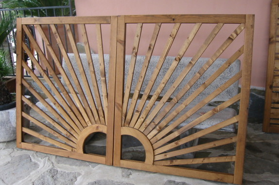 Grigliati in legno 69