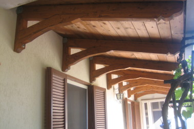 Pensiline in legno 3