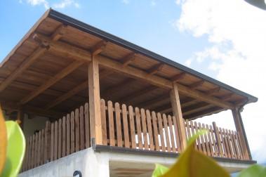 Tettoia in legno 29