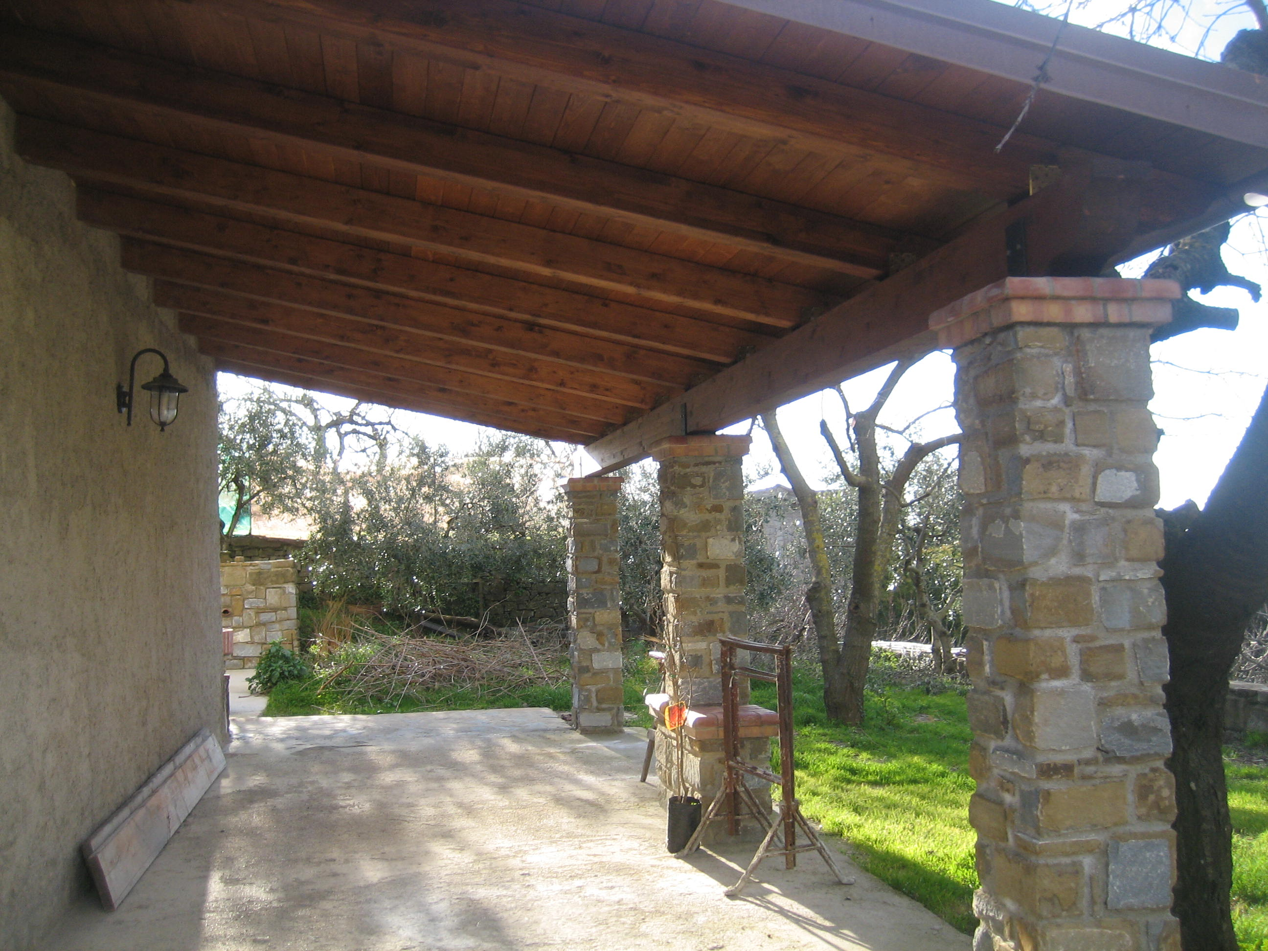 tettoia in legno 32 pino costruzioni group srls On immagini tettoie in legno