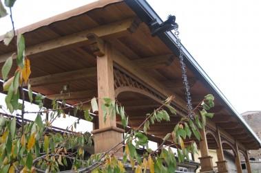 Tettoia in legno 7