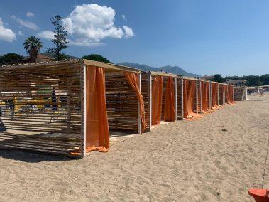 Gazebo Spiaggia in Legno