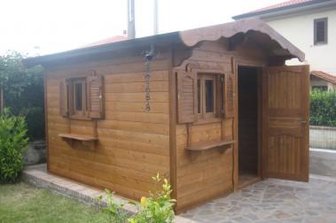 Casetta in legno 17