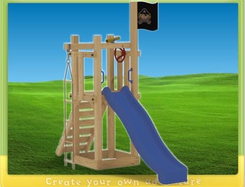 Scivolo, gioco in legno per bambini
