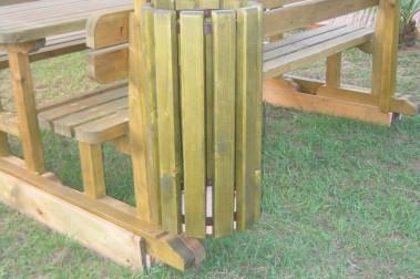 Cestino in legno 7