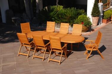 Arredo Giardino Tavolo per esterno in legno